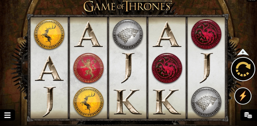 game of trones slot game